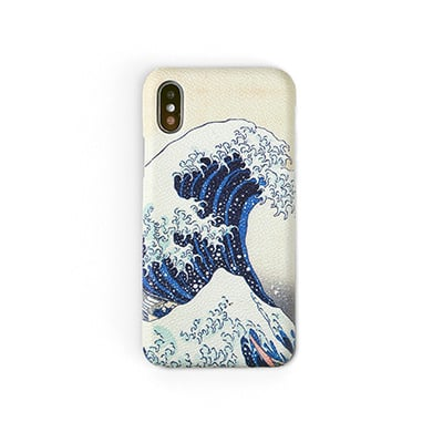Workshop68 手工iPhone殻 - The Great Wave - iPhone 7+/8+