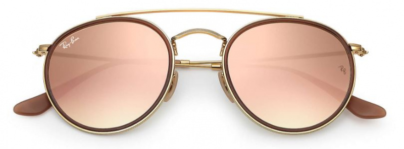 Ray-Ban RB3647N Round Double Bridge-9069A5 太陽眼鏡