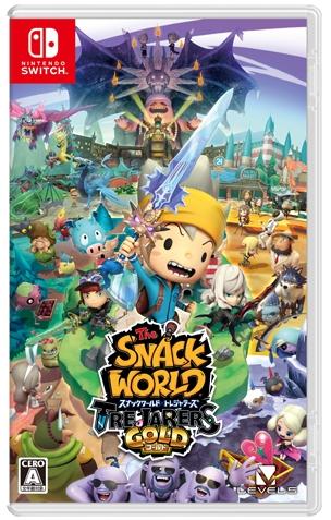 Nintendo Switch Snack World 點心世界黃金版