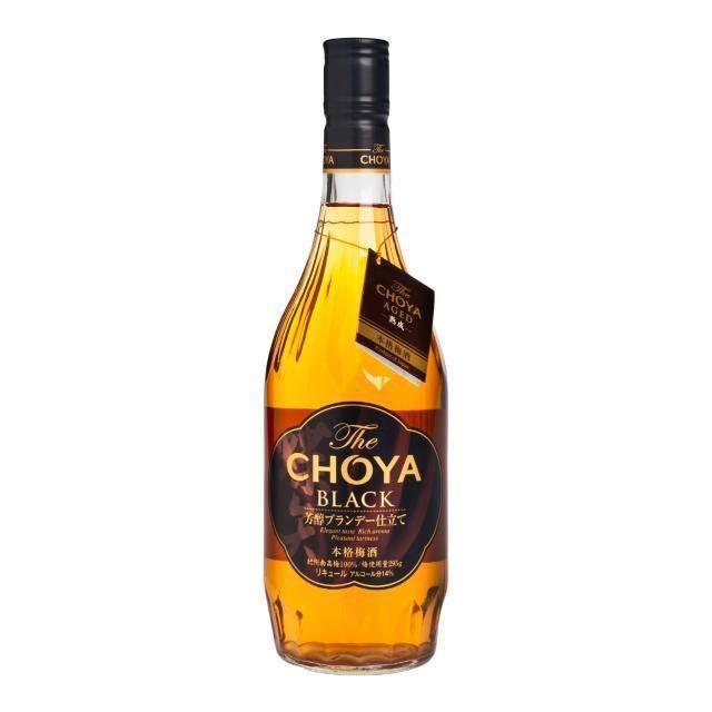 CHOYA Black 黑牌白蘭地梅酒 720ml