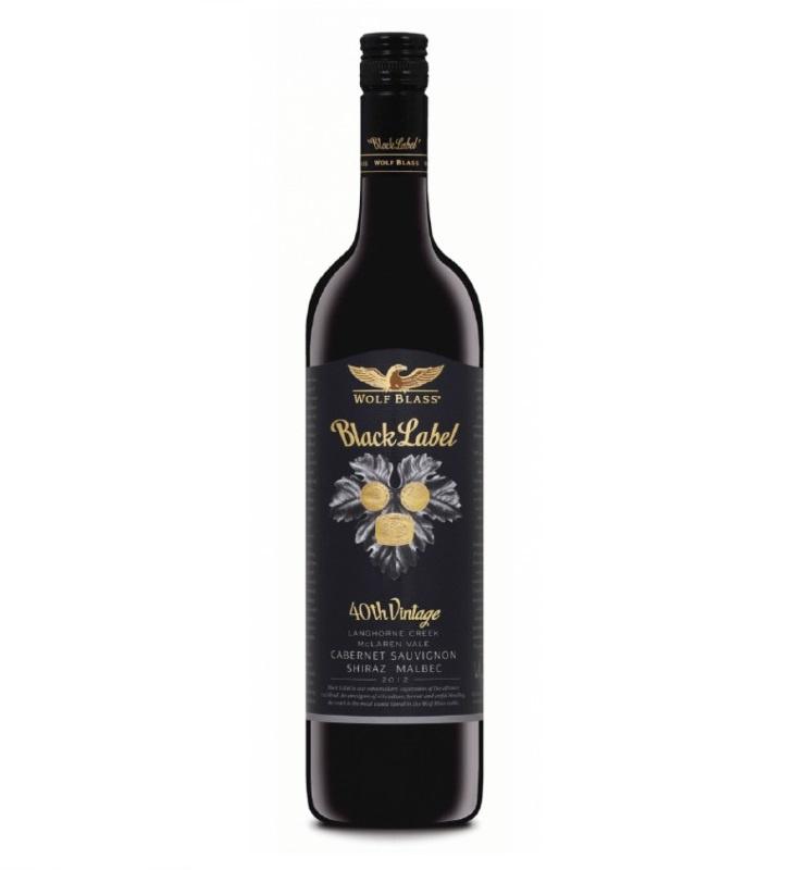 Wolf Blass Black Label Cabernet Sauvignon Shiraz Malbec 2012 紅酒 750ml - 0474210
