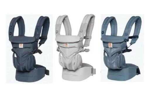 ErgoBaby 全階段型四式360嬰兒揹帶 透氣款[3色]