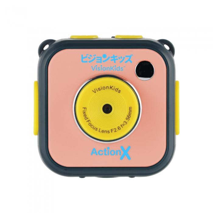 VisionKids ActionX 兒童防水運動相機 [2色][隨機顏色]