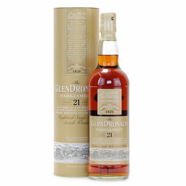Glendronach 21年 Parliament 威士忌 700mL