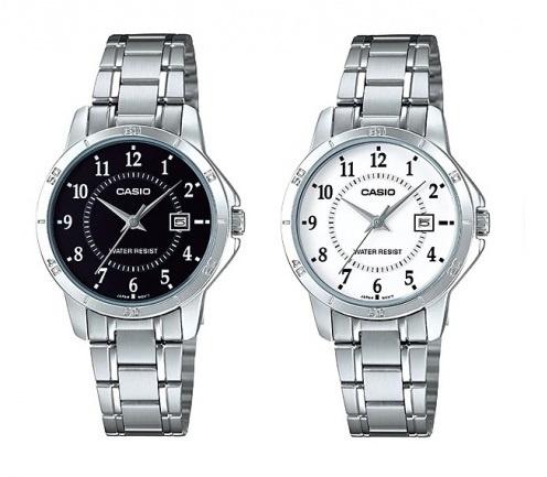 Casio MTP-V004D 男裝鋼帶手錶 [2色]