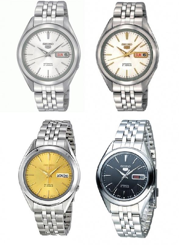 Seiko SNKL 全自動手錶 [4款]
