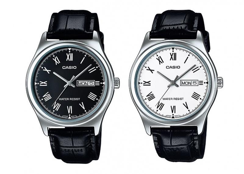 Casio MTP-V006L 男裝皮帶手錶 [2色]