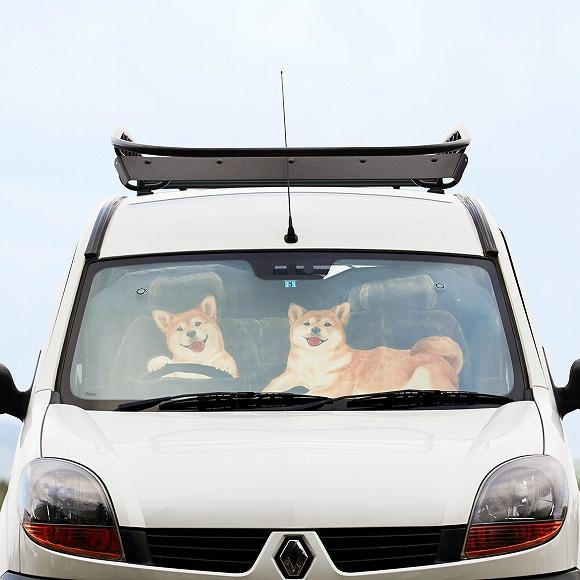 YOU+MORE 可愛動物汽車防曬遮陽擋
