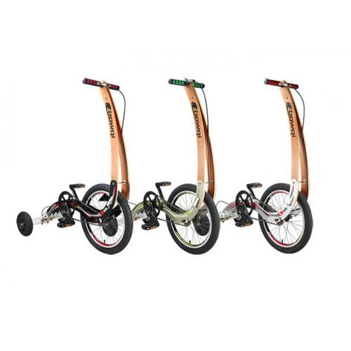 Bowqi 漂移三輪折疊慢跑單車 [3色]
