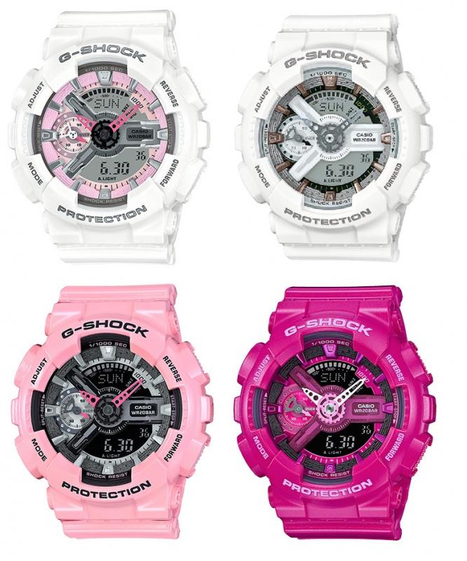 Casio G-Shock GMA-S110MP 女裝膠帶手錶 [4色]
