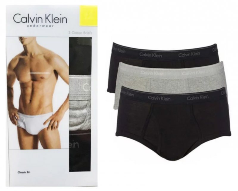 Calvin Klein 男士內褲三件裝 [4款]