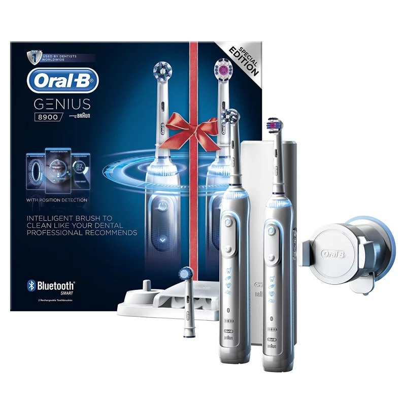 Oral-B Genius 8900 PRO 智能電動牙刷 [特惠2支裝優惠]