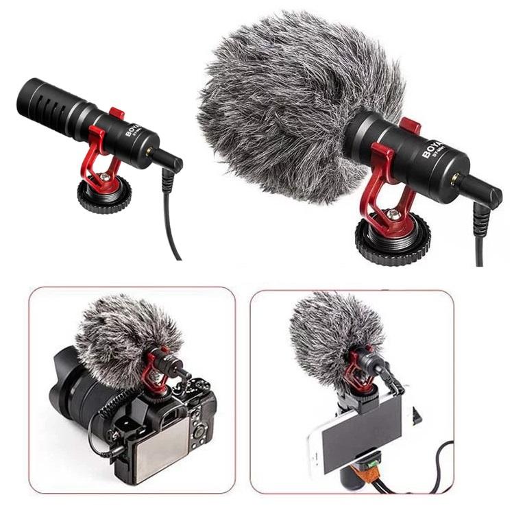 BOYA BY-MM1 Cardioid Microphone 電話/相機兩用收音咪