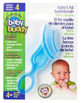 Baby Buddy baby's first toothbrush 嬰兒牙刷 [5色]