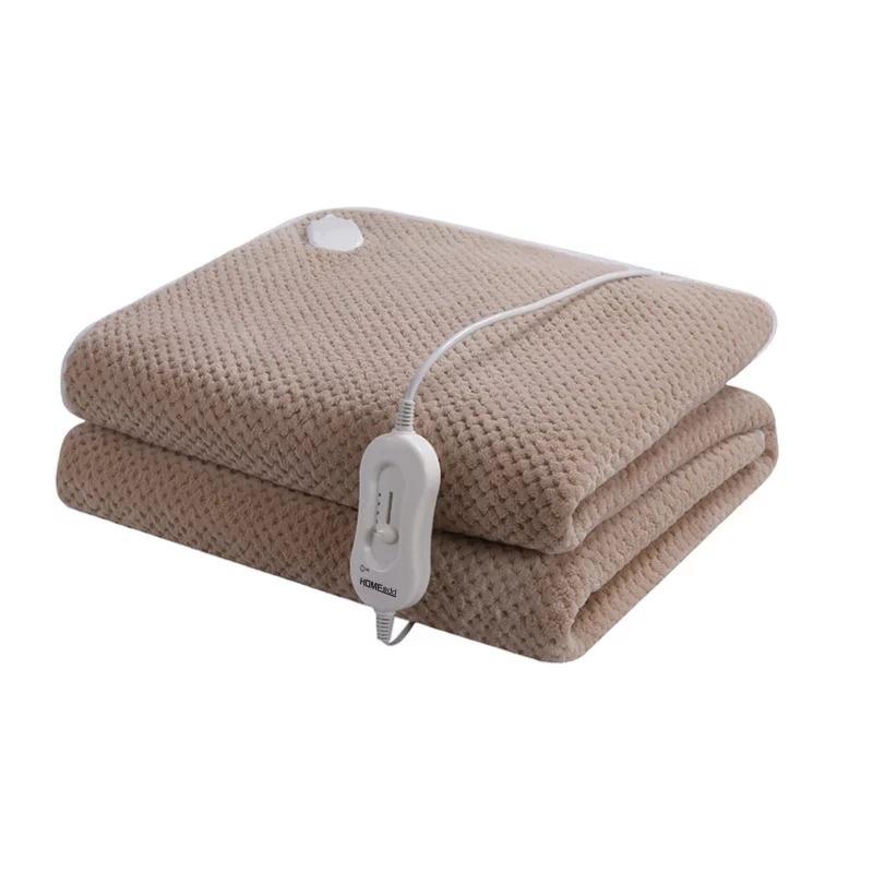 HOME@dd® 貝貝絨電暖毯 [單人/雙人] [2色]