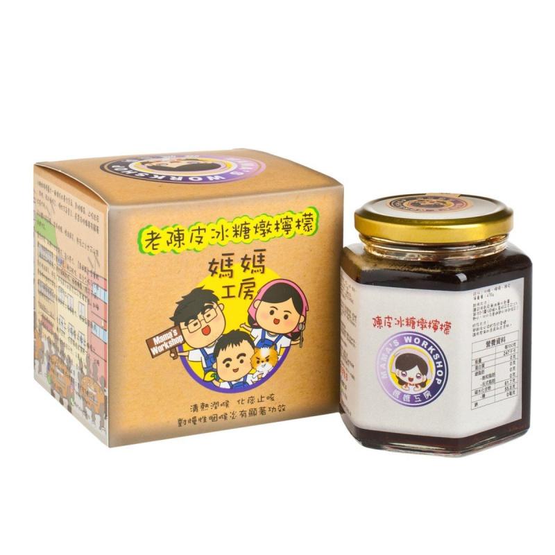 老陳皮冰糖燉檸檬 470g