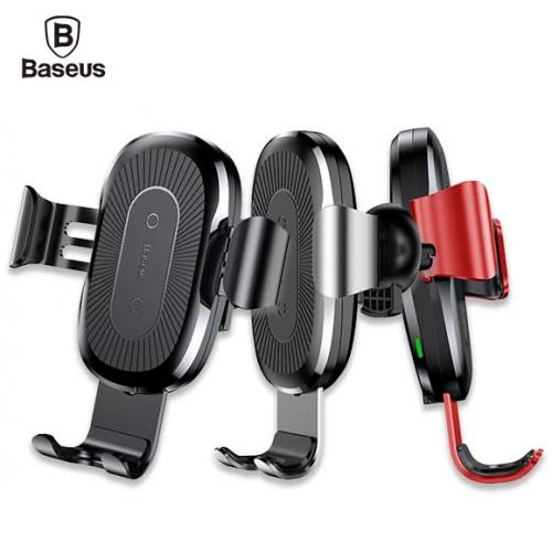 Baseus 全自動重力車用無線充電支架 [3色]