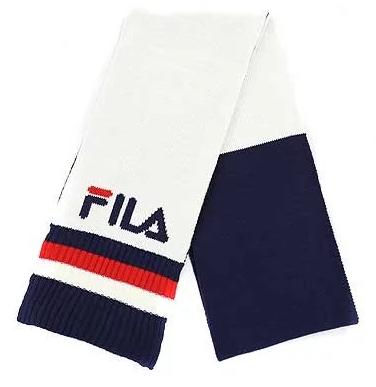 FILA 經典三色BIG LOGO 頸巾 [3色]