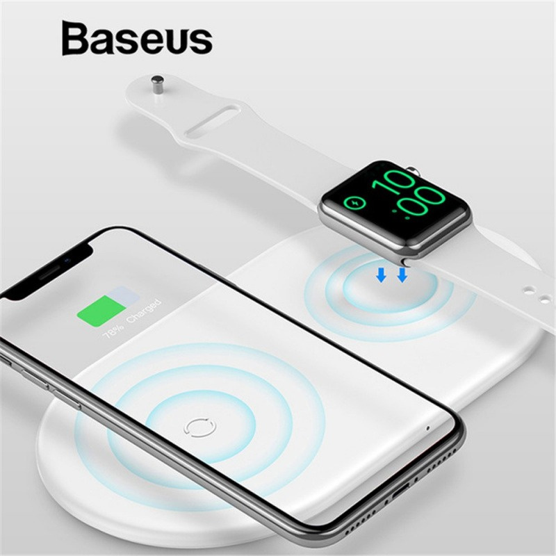 Baseus BSWC-P19 二合一無線快速充電器