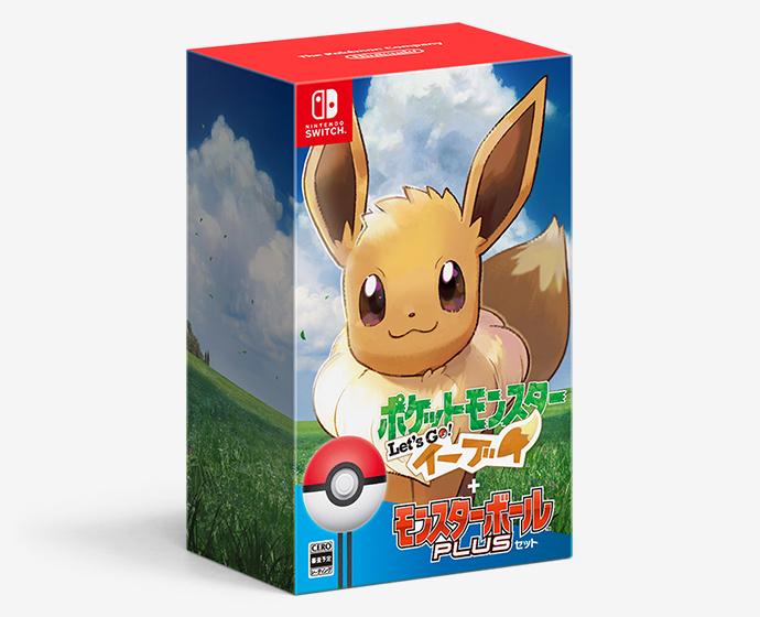 Nintendo Switch 精靈寶可夢 Let's Go!伊布 + 精靈球 Plus [特別套裝版]