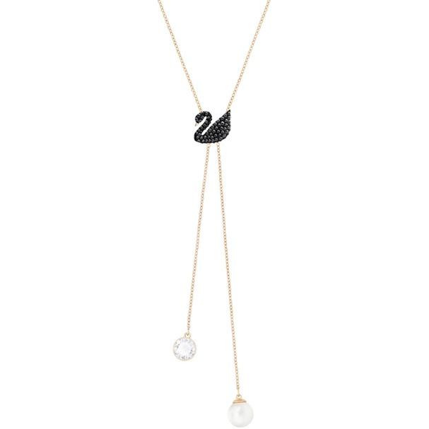 Swarovski Iconic Swan Double Y 項鏈 (5351806)