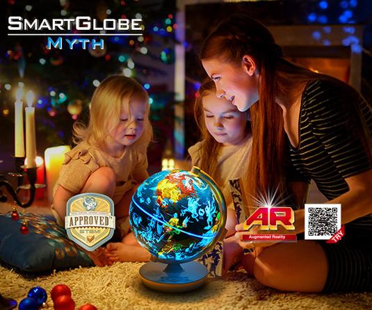 Oregon SmartGlobe Myth SG102RW 故事號 - 會說故事的AR智能地球