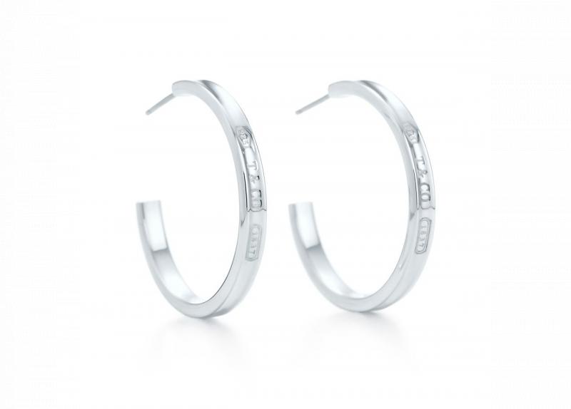 Tiffany 1837 圈形耳環 (25132807)