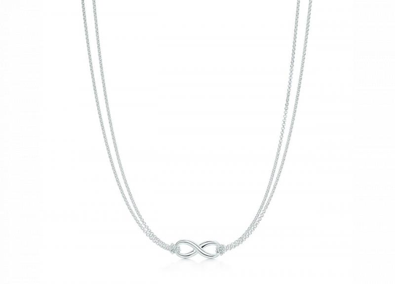 Tiffany Infinity 純銀鍊墜 (30319591)