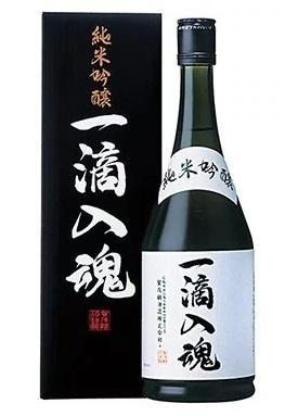 日本 賀茂鶴《一滴入魂》純米吟醸 獨立禮盒裝 720ml