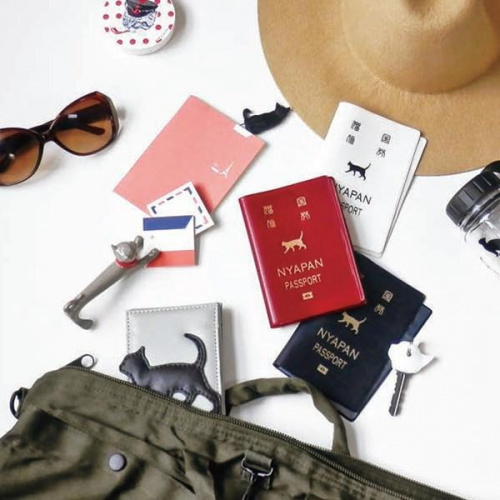 NYAPAN 貓國旅劵護照套