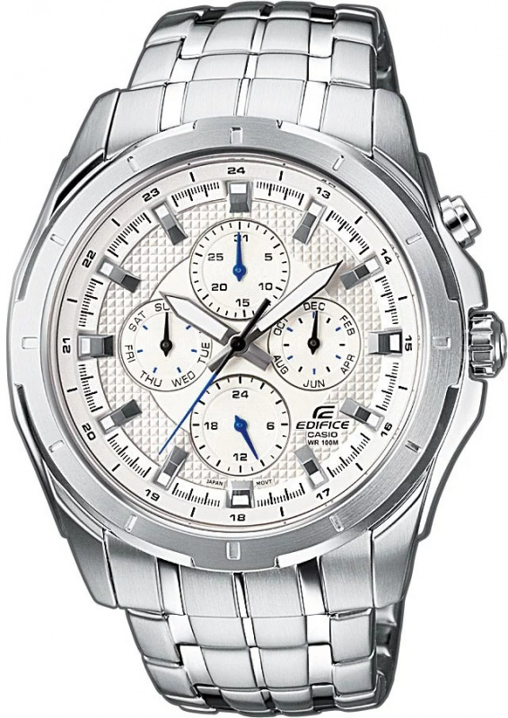 CASIO Edifice EF-328D-7A 鋼帶手錶