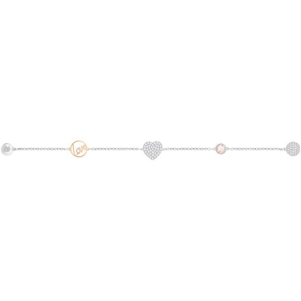 Swarovski Remix Collection Heart 手鏈 (5365760)