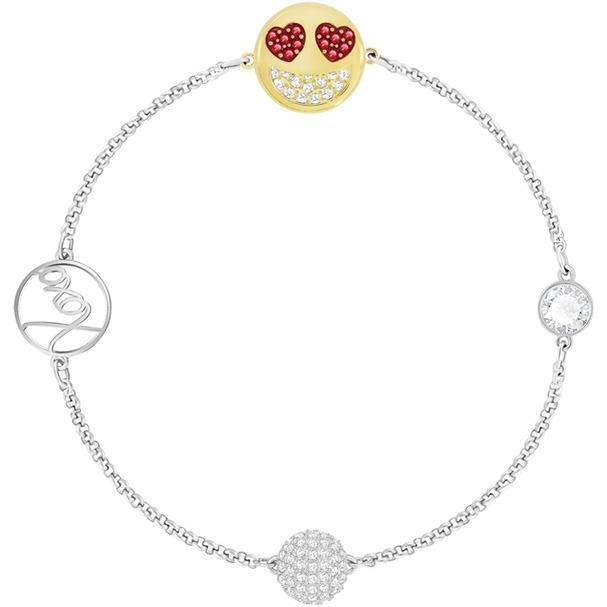 Swarovski Remix Collection Smiling Face with Hearts 手鏈 (5365750)