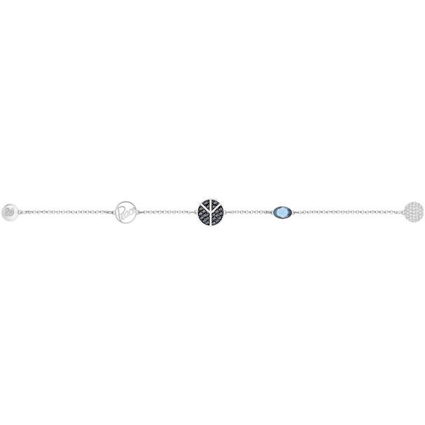Swarovski Remix Collection Peace Symbol 手鏈(5365748)