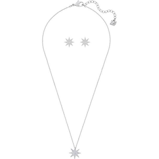Swarovski Fizzy 頸鏈耳環套裝 (5253054)