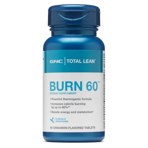 GNC Total Lean Burn 60 燒脂丸 [60粒裝]