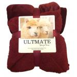 Ultimate 仿羊絨雙層特厚保暖毯 [多色2尺寸]