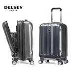 "Delsey Helium Aero 20"" 可擴張前置開口硬殼旅行喼 [灰色]"