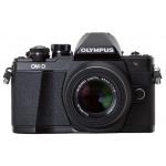 Olympus OM-D E-M10 Mark II無反相機連14-42mm EZ鏡頭套裝 (黑色)
