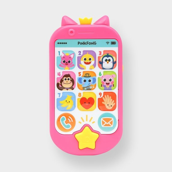 Pinkfong Magic Popup Smartphone 兒童玩具手機 [英語版]