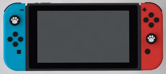 IINE Nintendo Switch 冬菇制貓爪帽 [2色]