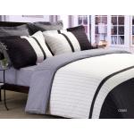 Casablanca 840-850針活性印花純棉系列 床品套裝(智慧被袋+床笠+枕袋) (CS580)