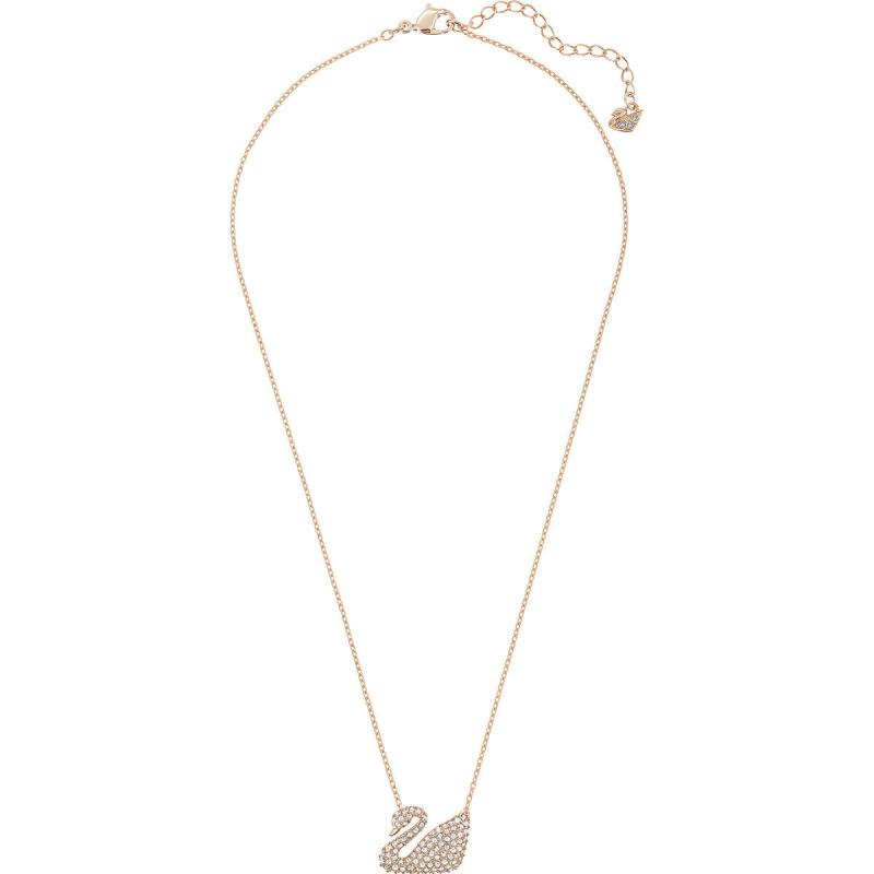 Swarovski Swan 天鵝吊墜頸鏈 [2色]