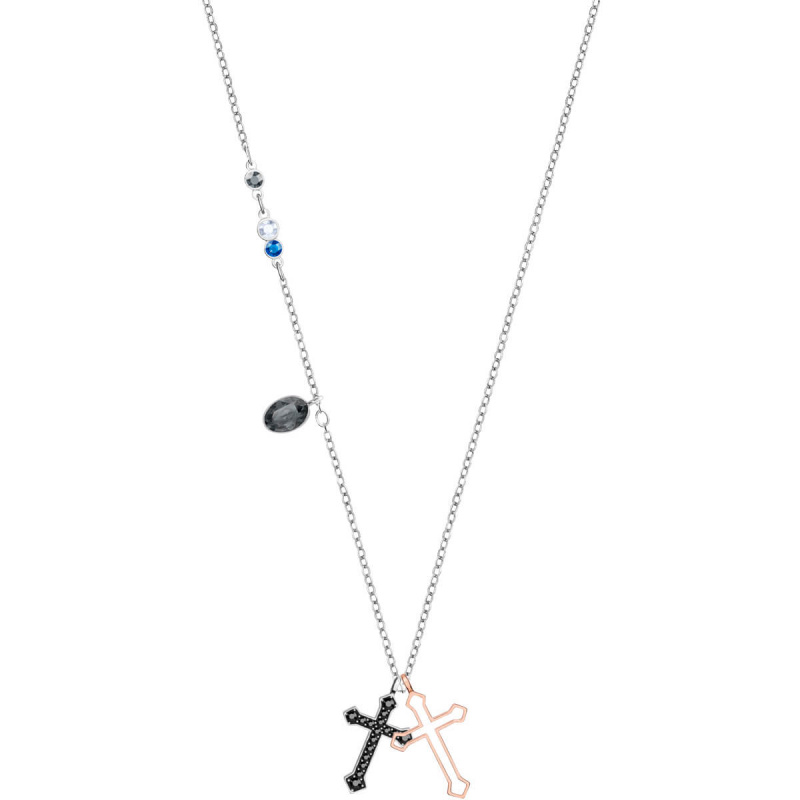 Swarovski Duo Mini Cross 鏈墜 (5396881)