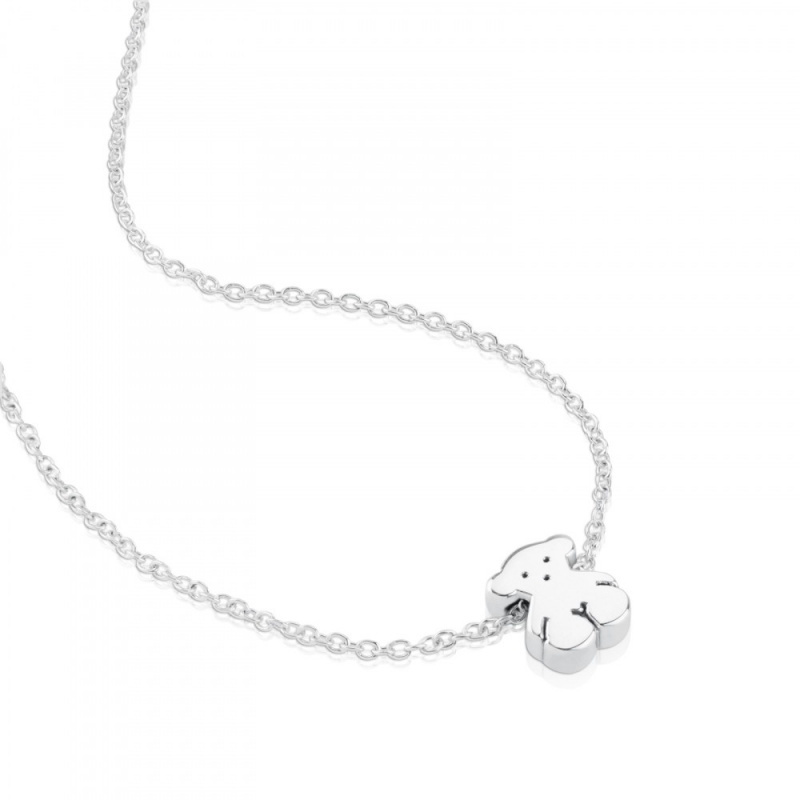 TOUS Silver Sweet Dolls Necklace 頸鏈 (15904510)