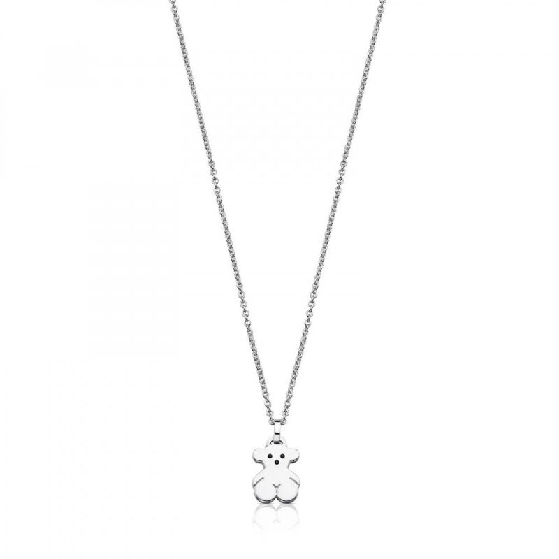 TOUS Silver Sweet Dolls Necklace with Spinel 頸鏈 (415904570)