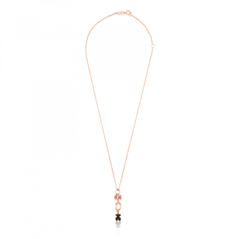 TOUS Rose Vermeil Silver Join 頸鏈 (512794510)