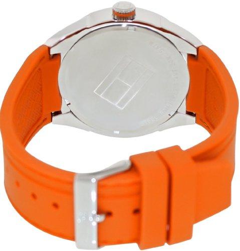Tommy Hilfiger 1790726 Logo Embossed 男士膠帶手錶