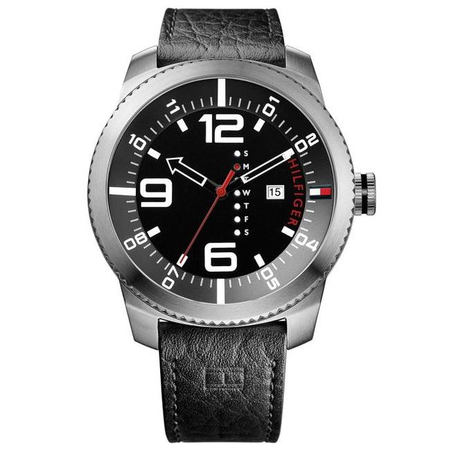 Tommy Hilfiger 1791014 男士皮帶手錶