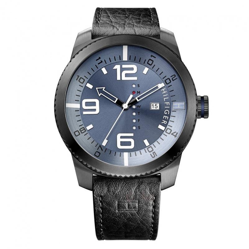 Tommy Hilfiger 1791016 男士皮帶手錶